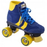 Rookie Rollerskates Retro blue and yellow