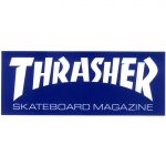 thrasher sticker blue