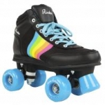 Rookie Rollerskates forever rainbow v2 black
