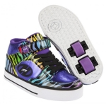 heelys x2 cruz purple rainbow zebra