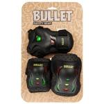 BULLET BLAST JUNIOR TRIPLE PADSET - RASTA