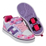 Heelys Bolt Plus Light Up - Light PinkLilacHearts
