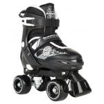' Adjustable Quad Skates - Pulse BlackWhite